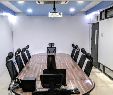 Training room in Kinettix's new Service Operations Center in Cebu City.